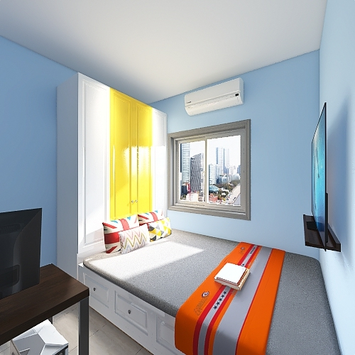 my room 4 Interior Design Render