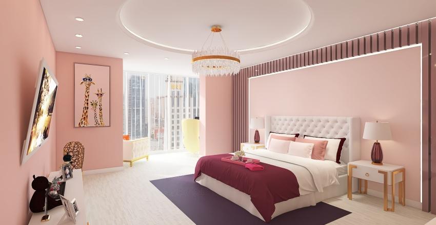 Проект квартиры Interior Design Render