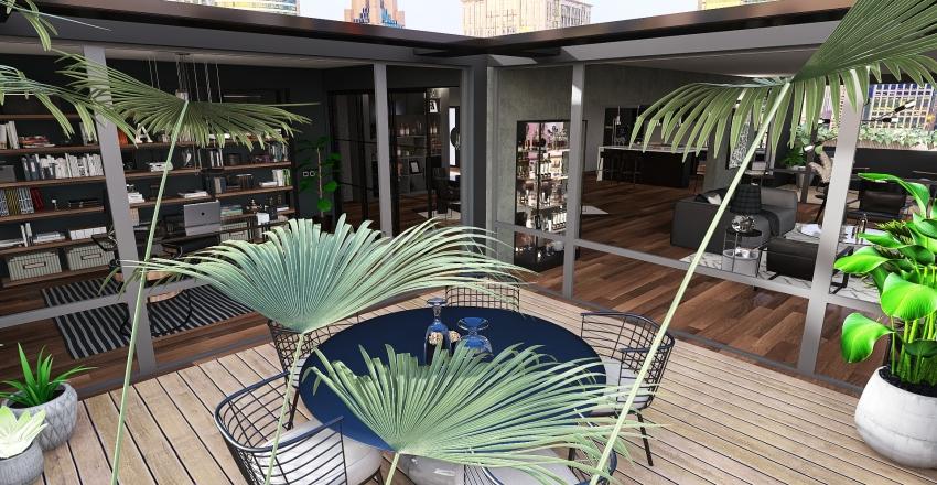 Albuquerque House Interior Design Render