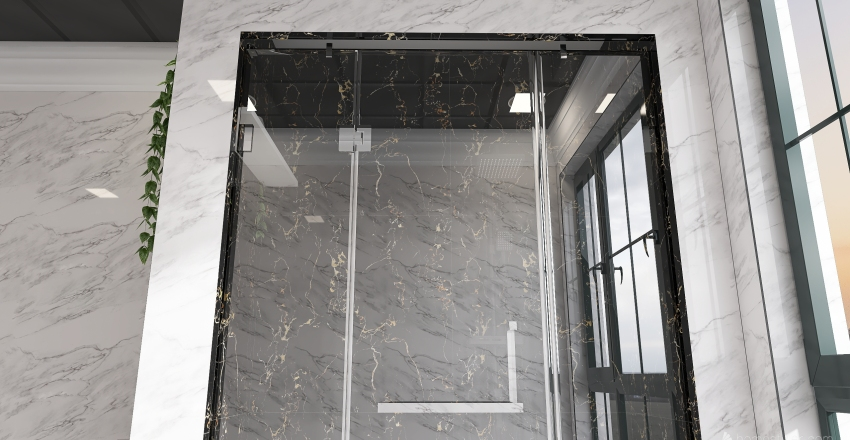 Loft Apartment Interior Design Render