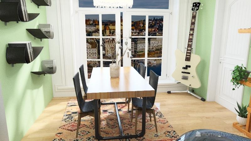 HS Choise collection Interior Design Render