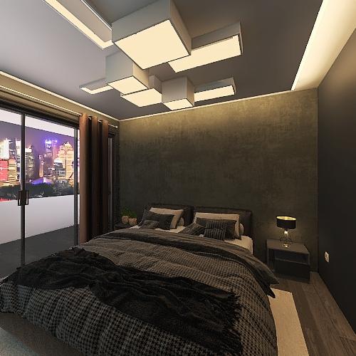 Madrid Interior Design Render