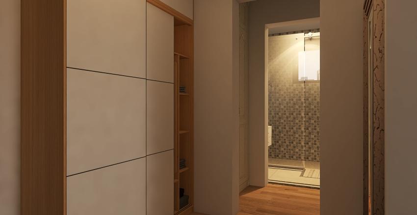 Apt 1 Interior Design Render