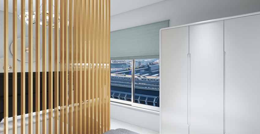 Kitnet 009 - Grao de Areia Interior Design Render
