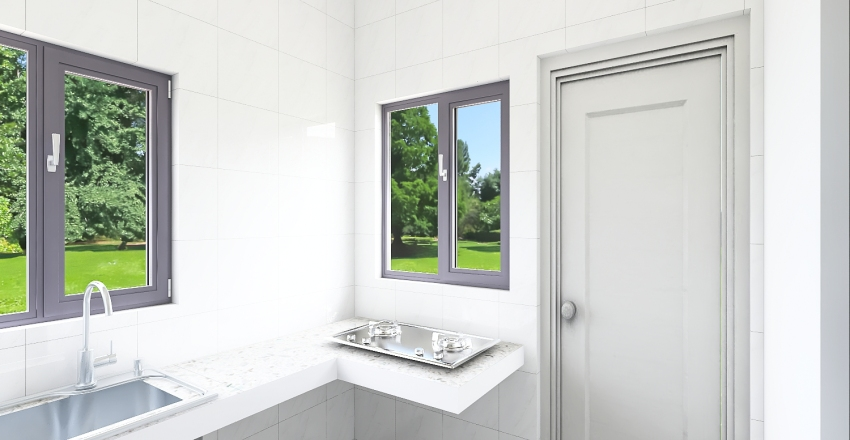Furniture Roof Interior Design Render