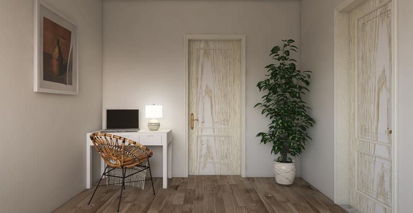 Dream Studio Apartment Interior Design Render