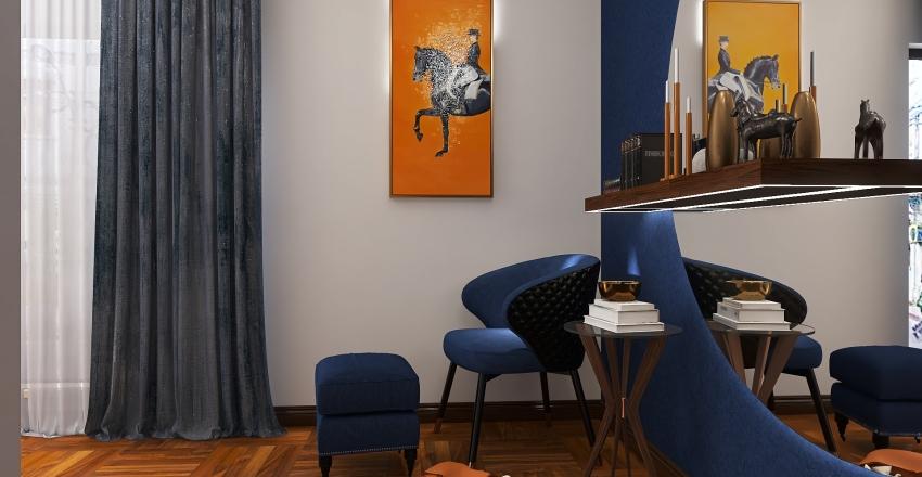 bedroom .. horse theme ..    Interior Design Render