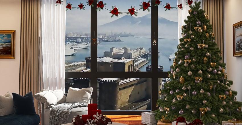 Christmas in Naples Interior Design Render