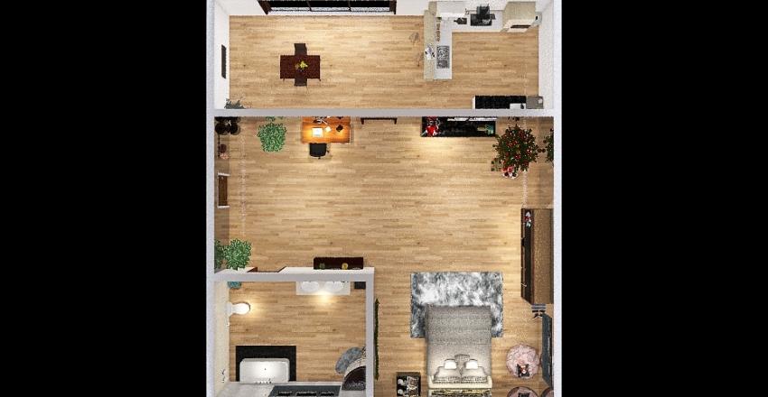 la mia stanza Interior Design Render