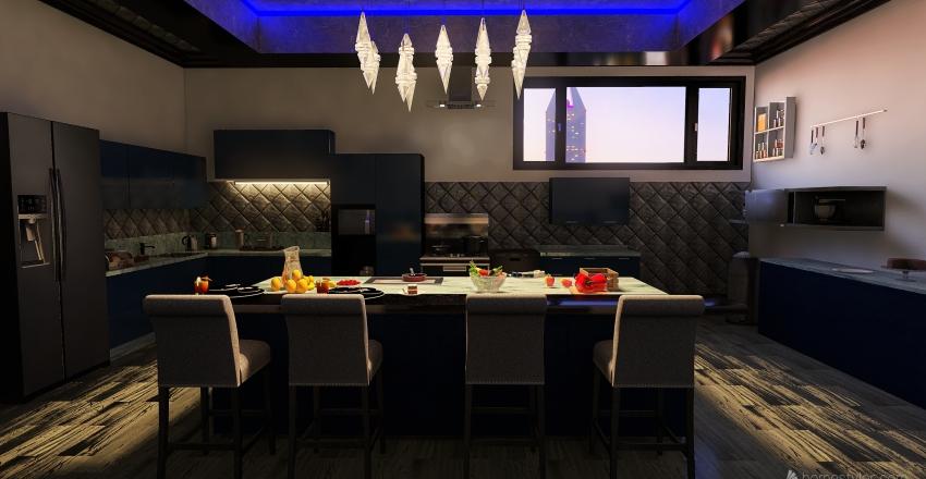 Luxury English Mansion Interior Design Render