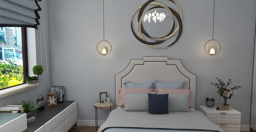 Светлый интерьер Interior Design Render