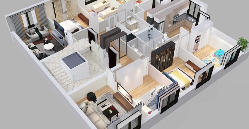 mokh inter1 Interior Design Render