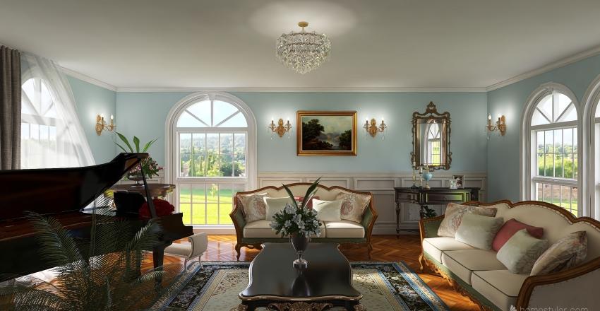 Darcy'room Interior Design Render