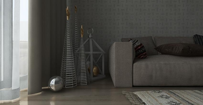 christmas Interior Design Render