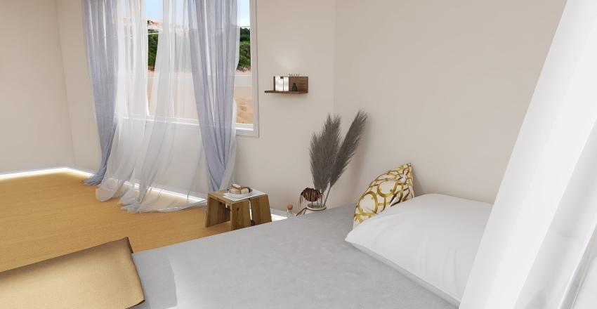 gold white lightacademia aesthetic Interior Design Render