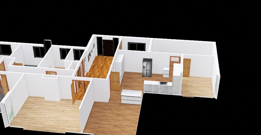 Granville - Wraparound Interior Design Render