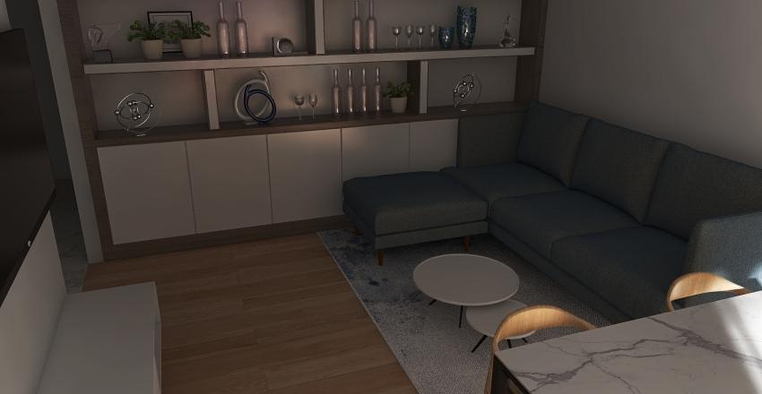 Mieszkanie Moko Interior Design Render