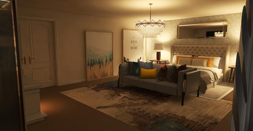 Bedroom Start Interior Design Render