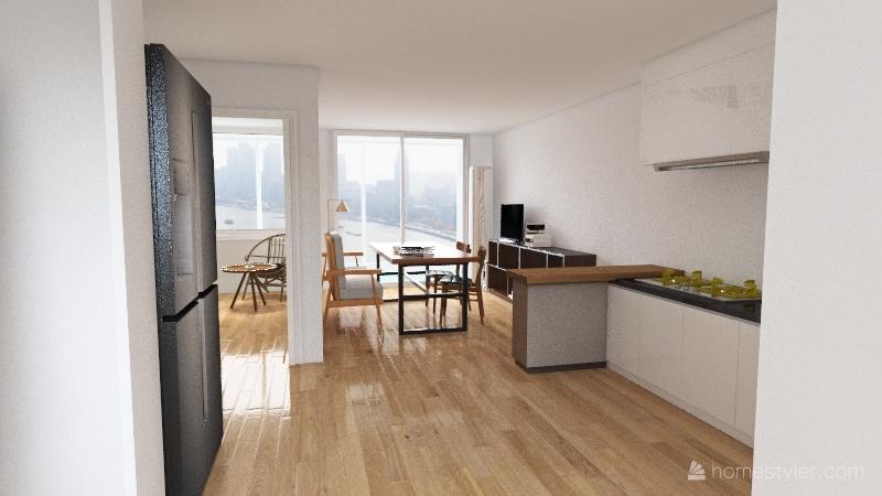 changshin house _real Interior Design Render