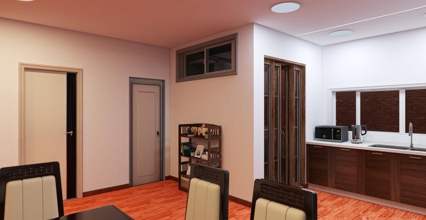 1 Nivel Diseño de Casa en Urb. el Huerto, La Melchora. Interior Design Render