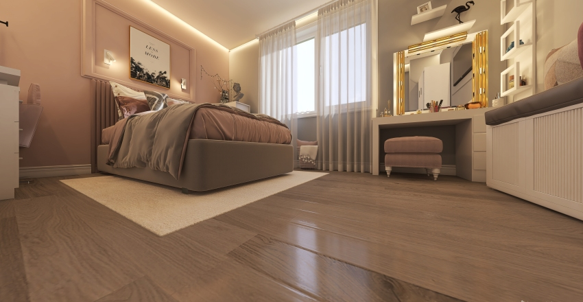 karina room Interior Design Render