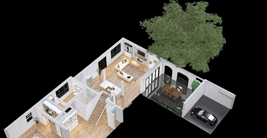Mommas House 2 Interior Design Render