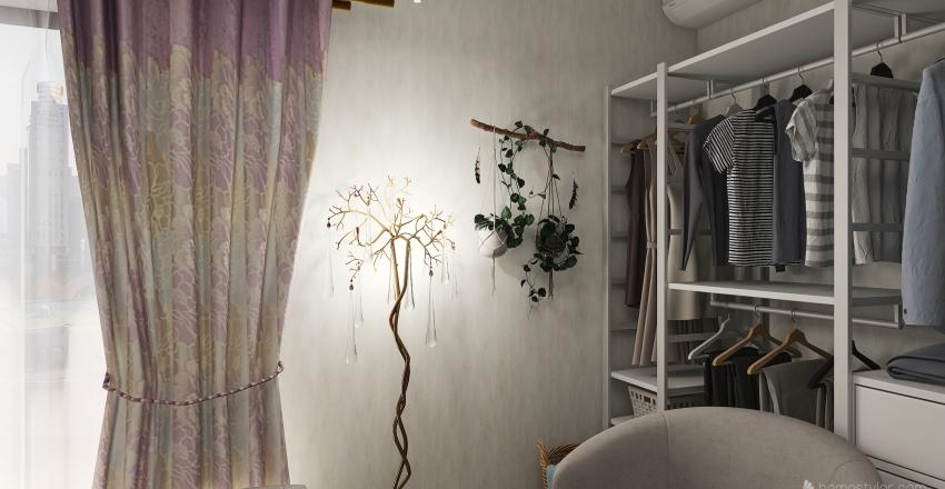 Cute Room Interior Design Render