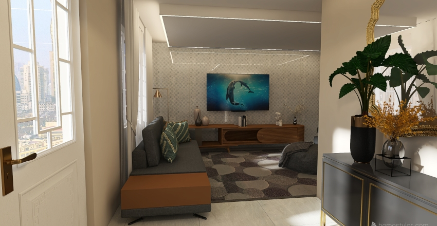 meuquarto Interior Design Render