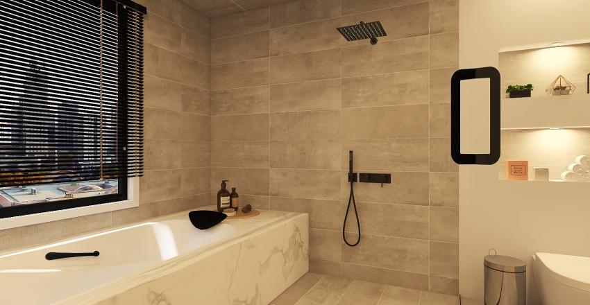 030| city apartment Interior Design Render
