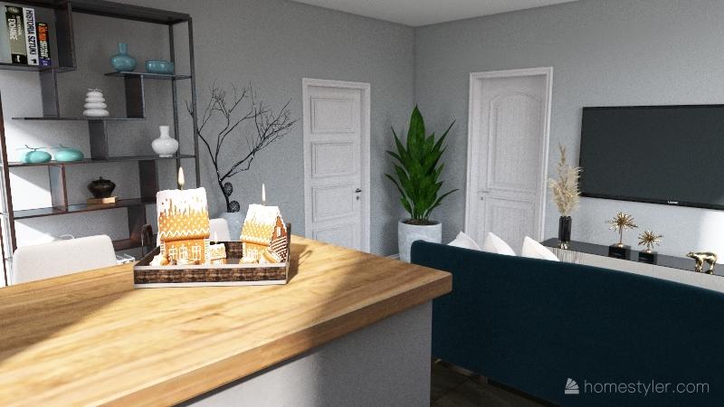 studeo apartment Interior Design Render