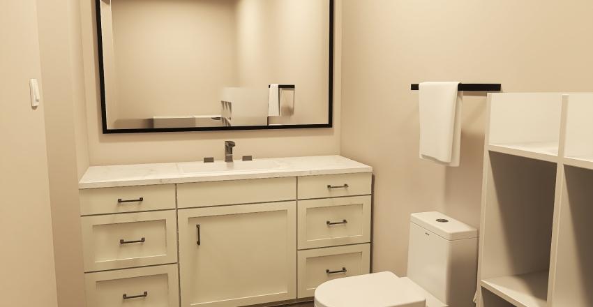 Spacious Apartment Interior Design Render