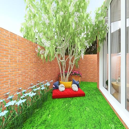 Holiday home Interior Design Render