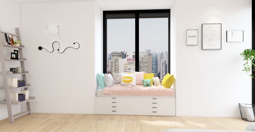 baddie room<33 Interior Design Render