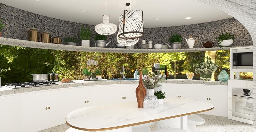 Simple Life - Garden Dome Interior Design Render