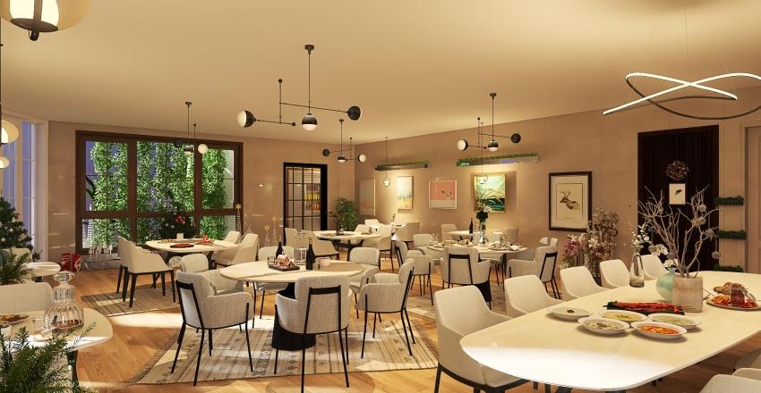 EX.rest Interior Design Render
