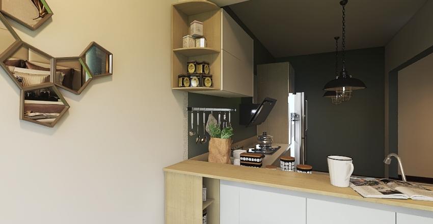 italy Interior Design Render