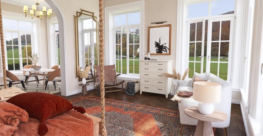 Bohemian Escape Interior Design Render