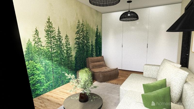 Guest room Interior Design Render