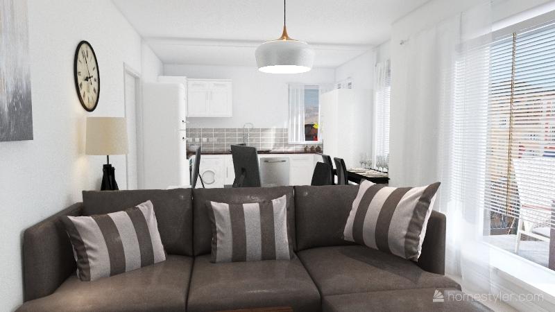 Copy of Flat Interior Design Render