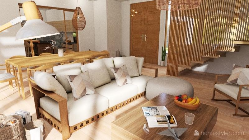CASA J Interior Design Render