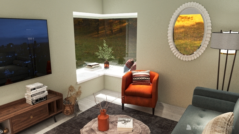 801 House Interior Design Render