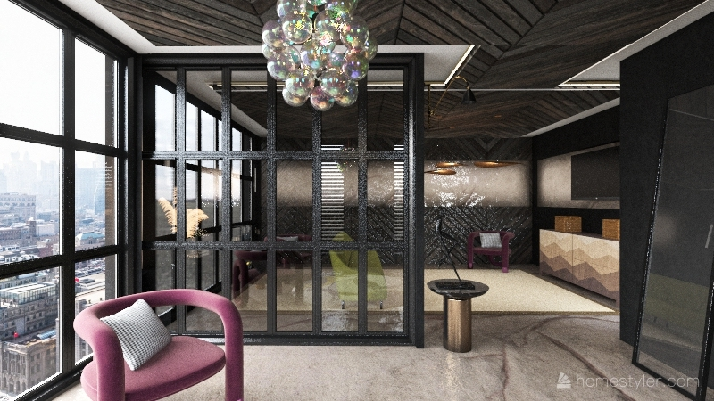 living space 28/12/20 Interior Design Render