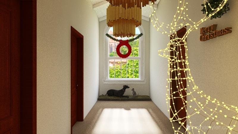 christmas homie Interior Design Render