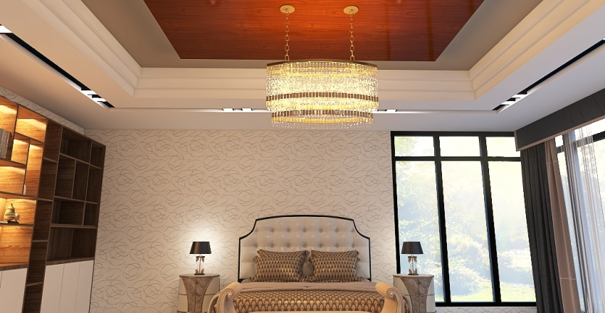 MASTER BADROOM Interior Design Render