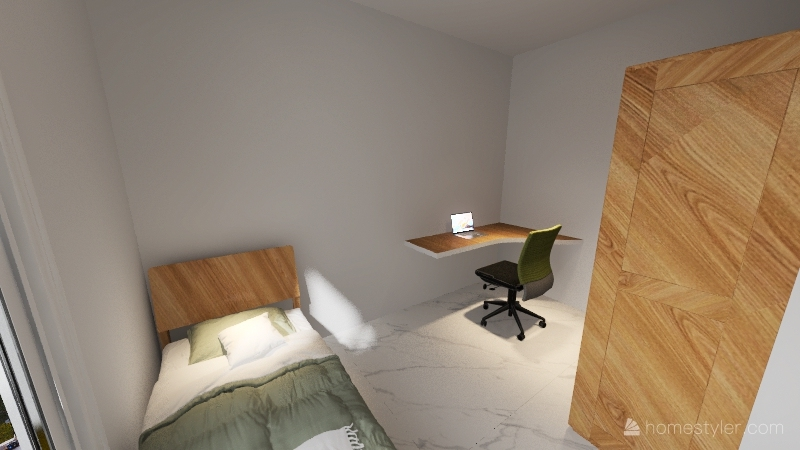Design Universal - Casa para Cadeirante Interior Design Render