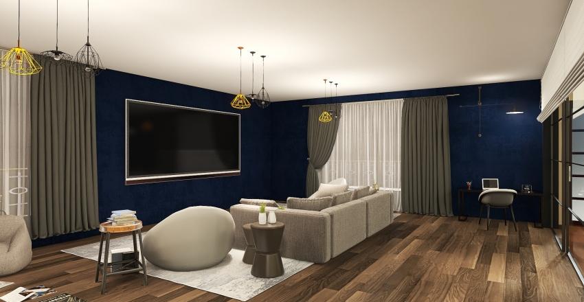 3D room for dream Interior Design Render