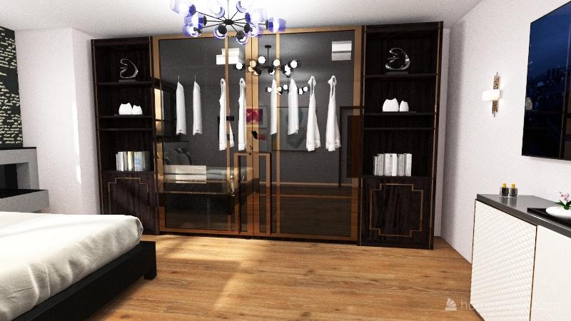 wild house Interior Design Render