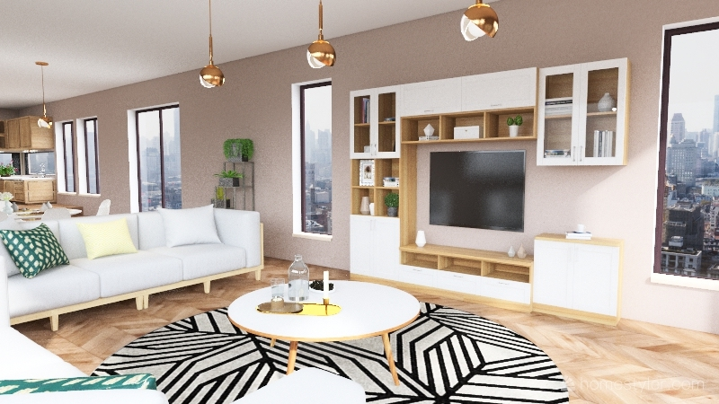 Neutro Interior Design Render