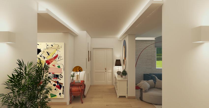 Tradicionalmodern home Interior Design Render