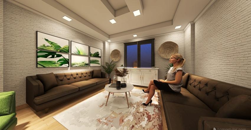 EV PROJESİ Interior Design Render